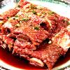 ヒョンブ食堂自慢の味「牛骨付カルビ」