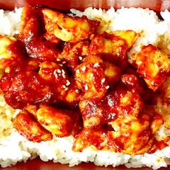 鶏丼のイメージ