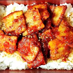 サムギョプサルドン丼のイメージ