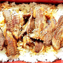 カルビ丼のイメージ