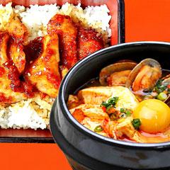 ドントロ丼+スンドウブチゲのイメージ