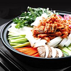 コプチャン鍋のイメージ