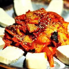 豆腐キムチのイメージ