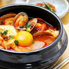 スン豆腐チゲのイメージ