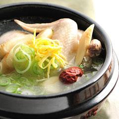 参鶏湯のイメージ